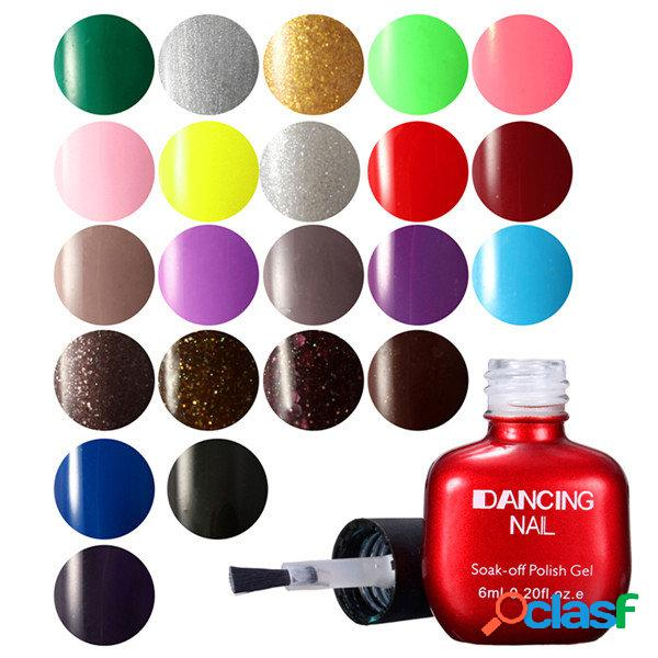 47 cores unhas polonês gel charme nail art uv gel polonês soak-off unha polonês