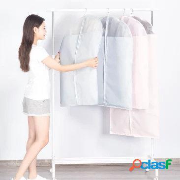 Original xiaomi mi casa 2 pcs roupas roupas capas protetor à prova de poeira pendurado roupas armazenamento bolsa