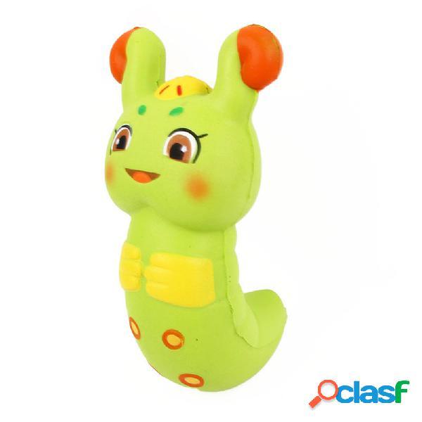 Caterpillar squishy soft slow rising com empacotamento coleção gift toy