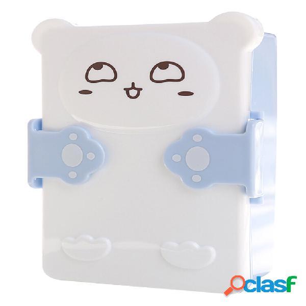 Microwavable lunch box bonito dos desenhos animados estudante bonito dos desenhos animados estudante bento box recipient