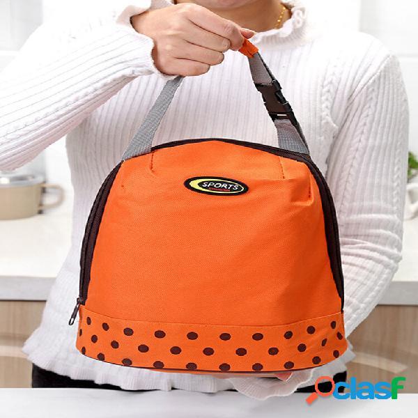 Bolsa térmica sacos de piquenique que mante comida e bebida fresca bolsas de viagem