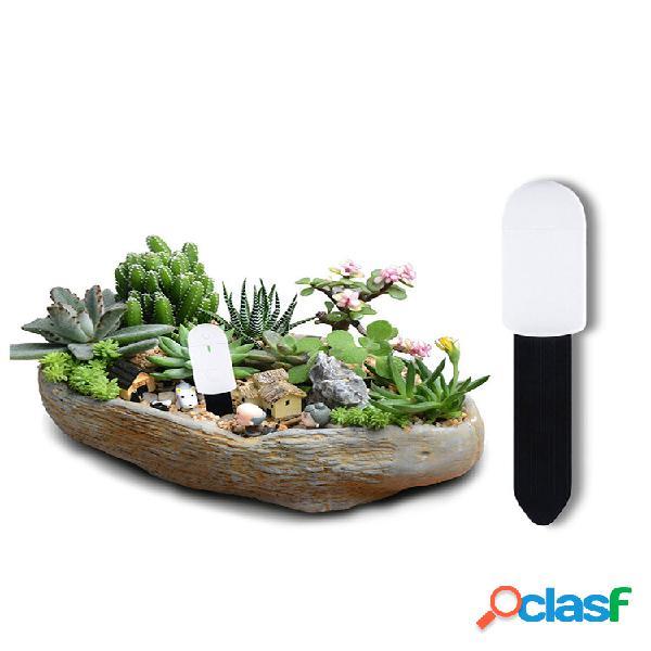 Plantas de jardim solo testador de umidade monitor de umidade de bonsai flor interior com indicador de luz