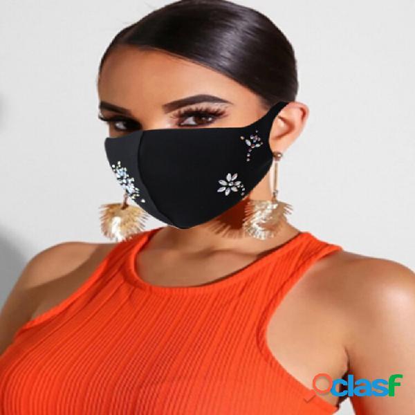 Decoração de mulheres máscara para o rosto de moda de festa de dança máscara