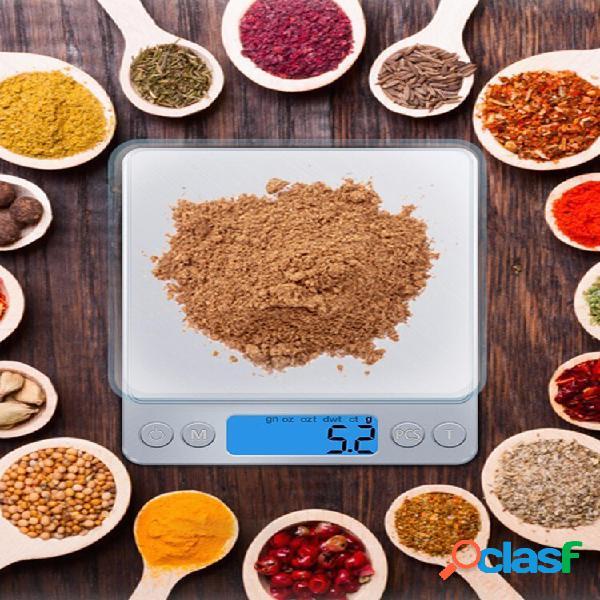 Balança eletrônica de cozinha balança digital de bolso de alta precisão mini honana 500g / 0.01g