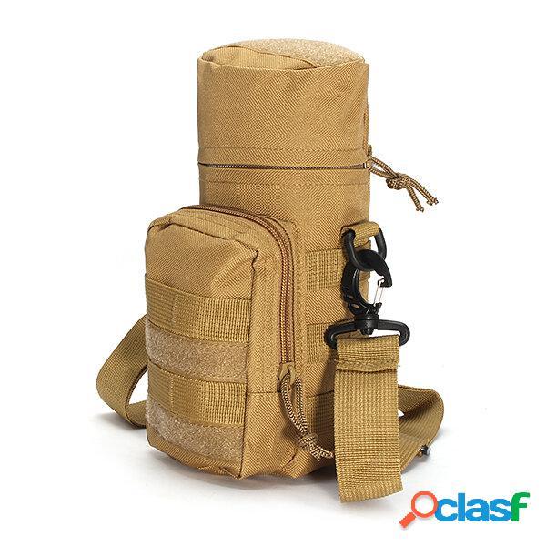Kcasa kc-bc05 molle water bottle carrier travel climb outdooor cintura belt tactical kettle bag holder
