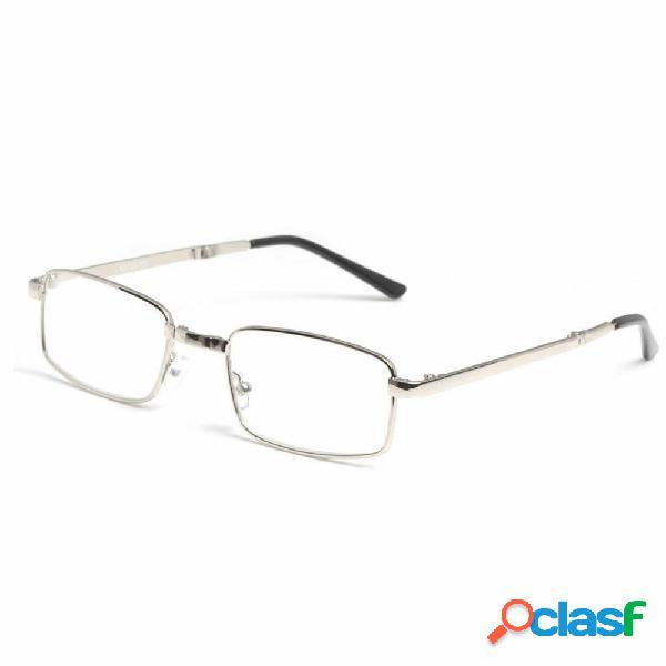 Portable folding anti-fatigue presbyopic glass resina alloy reading glasses