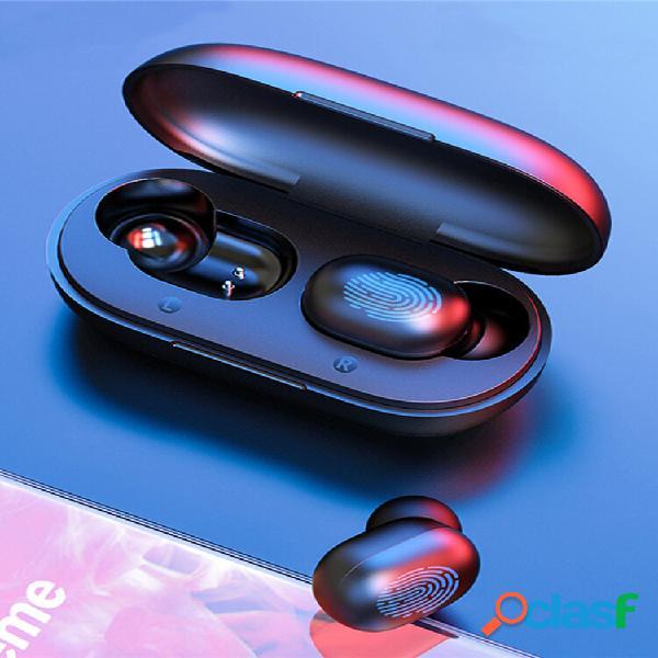 Haylou gt1 tws wireless bluetooth 5.0 fone de ouvido hifi smart touch chamada bilateral dsp fone de ouvido