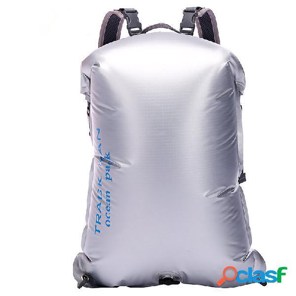 Trackman tm8601 outdoor pvc impermeável saco portátil viagem mergulho seco saco