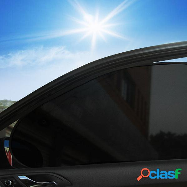 """Cortina de janela do carro - (2 unidades) - protetor de sol de 26 """"x 15"""" para janelas de carro - proteção solar, reflexo"""