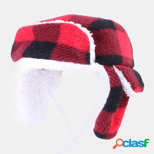 Boina natal bichinho de estimação chapéu plus veludo outono e inverno grande cachorro dourado cabelo capuz quente e à pr