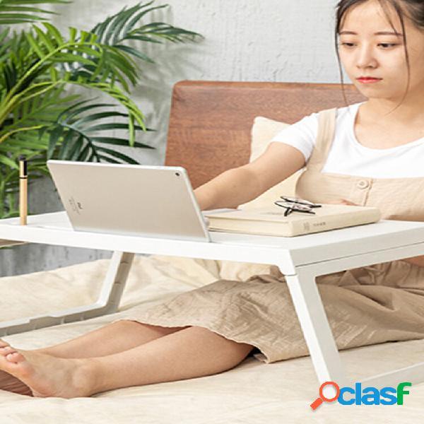 Cama mesa pequena dormitório dobrável portátil mesa cama preguiçosa mesa de jantar mesa portátil laptop