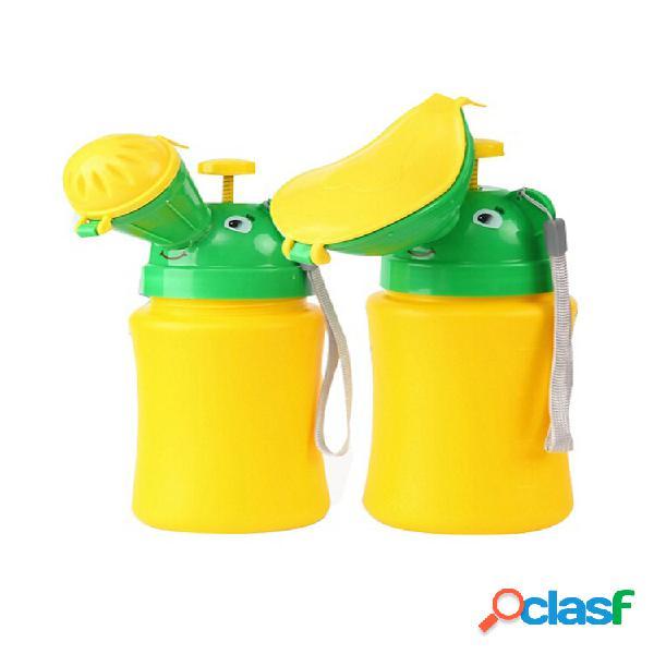 Urinol portátil banheiro treinamento penico bebê criança criança menino menina carro viagem xixi