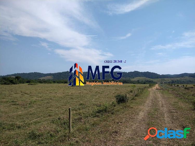 Fazenda com 460 alqueires município de juquiá sp