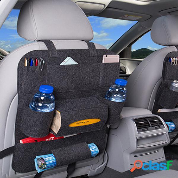 Armazenamento para carro bolsa armazenamento bolsa armazenamento traseiro multifuncional caixa suspenso bolsa
