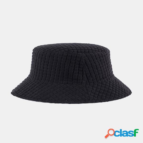 Mulher e homem com tecnologia dupla face, casual quente, todo fósforo uv, balde protetor solar chapéu