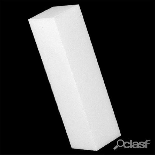 White sanding nail art block file polônia buffer pedicure manicure
