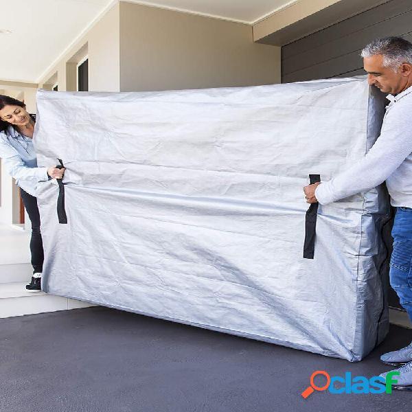 Colchão removível bolsa protetor solar impermeável móvel para interior e exterior capa de colchão reutilizável