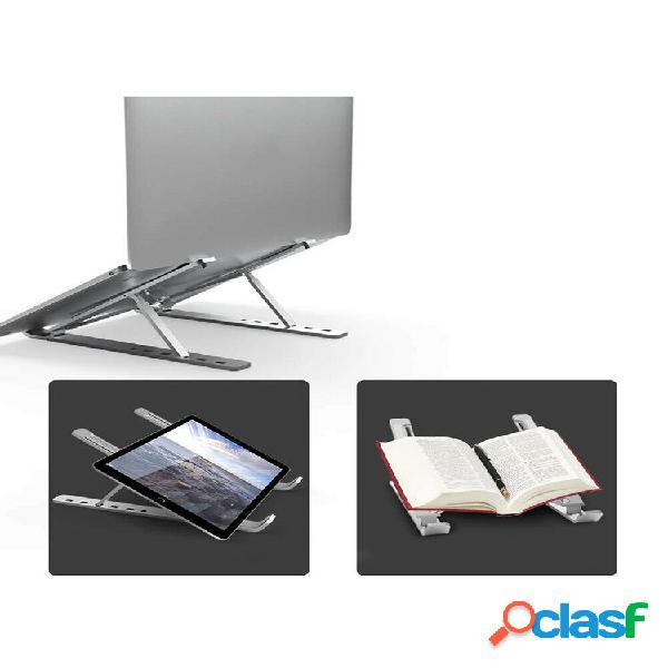 Suporte ajustável para tablet de liga de alumínio de seis engrenagens para laptop dobrável e portátil stand holder