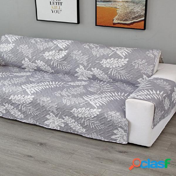Capa de sofá acolchoada universal de 1/2/3 assento para sofá protetora de móveis capas para cadeiras