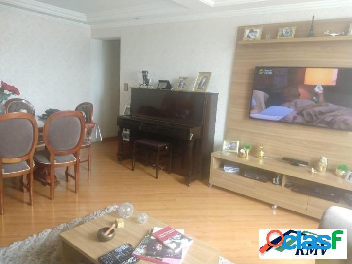 Apartamento com 2 dormitórios à venda, 80 m² - parque terra nova - são bernardo do campo/sp