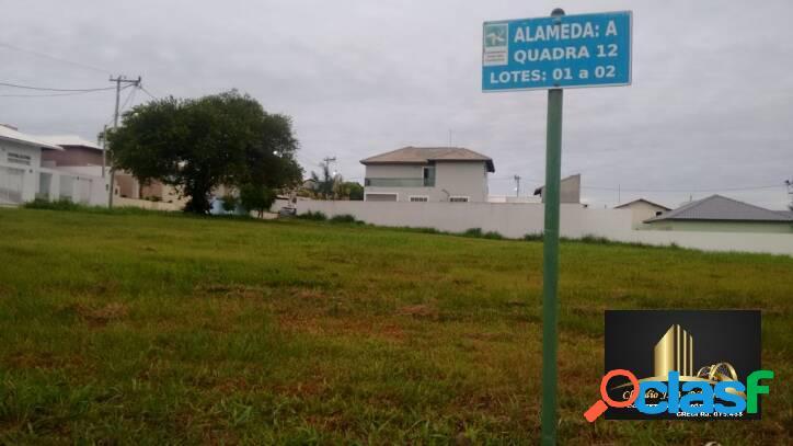 Terreno plano em condomínio de alto padrão em são pedro da aldeia.