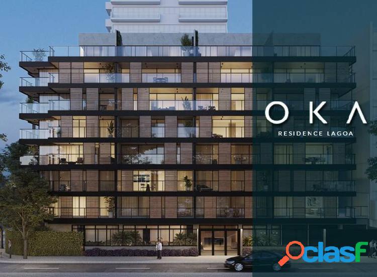 Apartamentos (de 3 quartos) - oka residence lagoa - rj