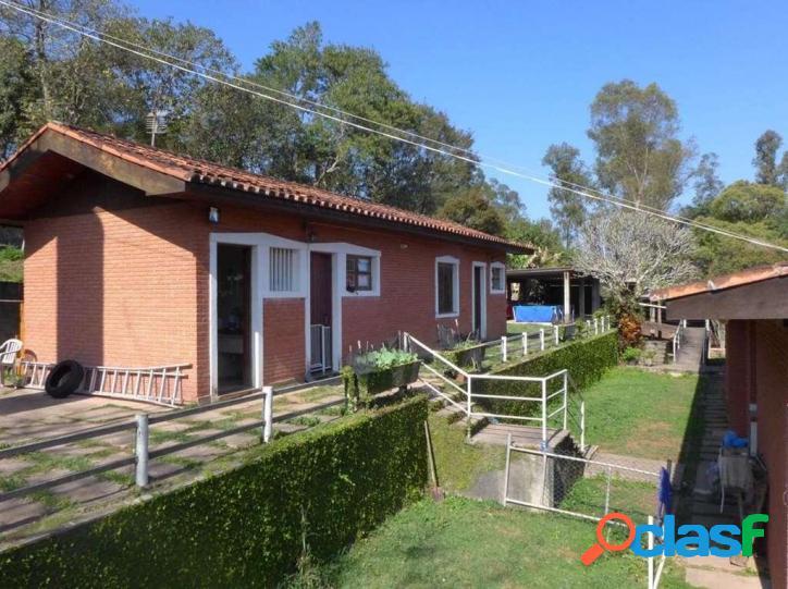 Granja viana - 4.875,20m² de terreno - 458,81 m² de área construída !