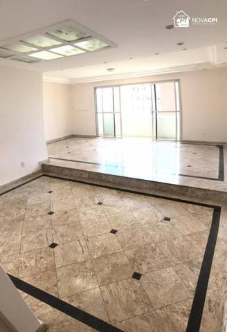 Apartamento com 3 dormitórios para alugar, 220 m² por r$