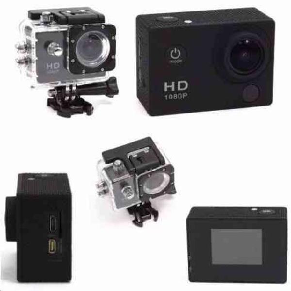 Câmera esportiva go pro full hd 1080p a prova d'água
