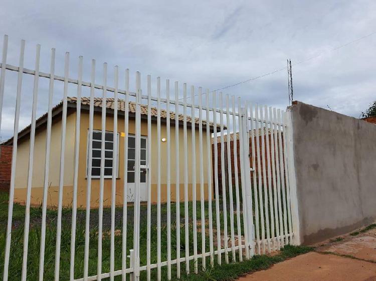 Casa residencial dignidade, r$ 57 mil + saldo de r$ 63 mil,