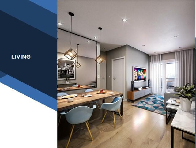 Apartamento à venda, 2 quartos, 1 suíte, 1 vaga, vila