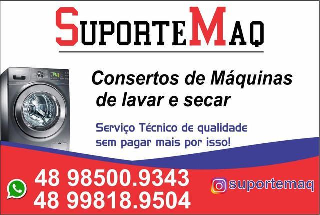 Consertos de máquinas de lavar, secadoras e especializada