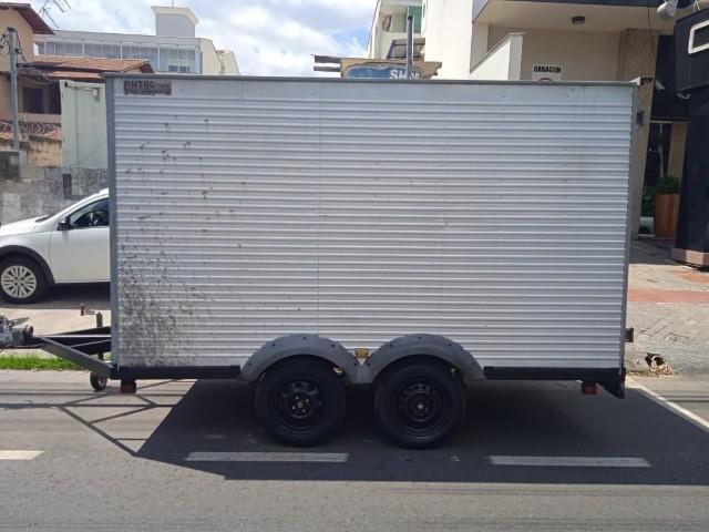 Carretinha reboque truck bau 2013 - 2013