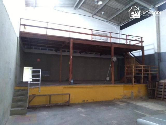 Galpão para alugar, 340 m² por r$ 9.000,00/mês - vila