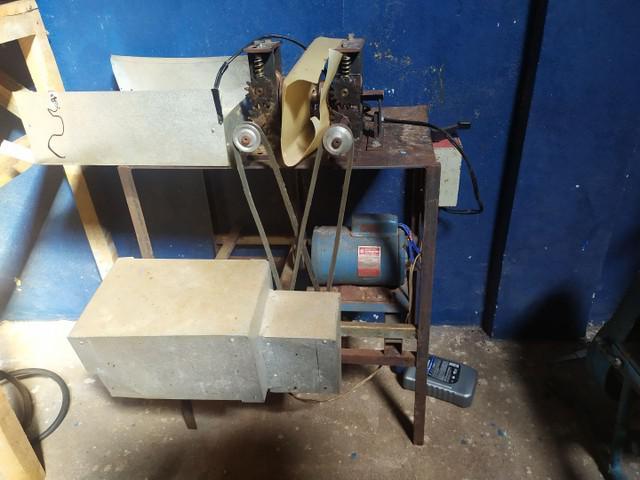 Máquina fazer espeto bambú