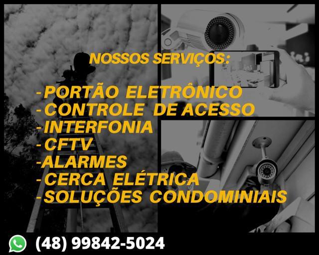 Promoção de câmeras, alarmes e toda segurança