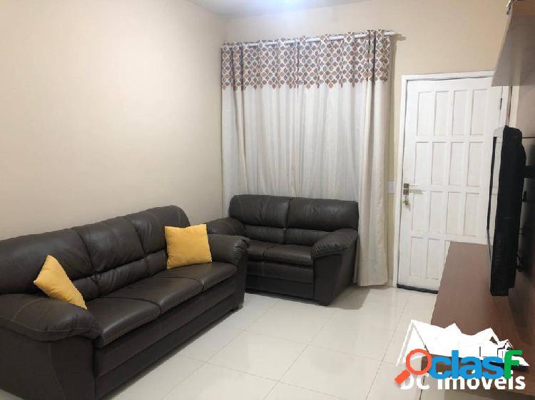 Casa mobiliada com 2 dormitórios, 90m2, canto do mar - são sebastião/sp