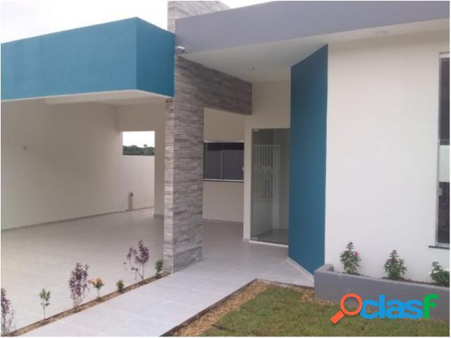 Tropical bairro planejado - casa com 2 dorms em iranduba - iranduba por 131 mil à venda