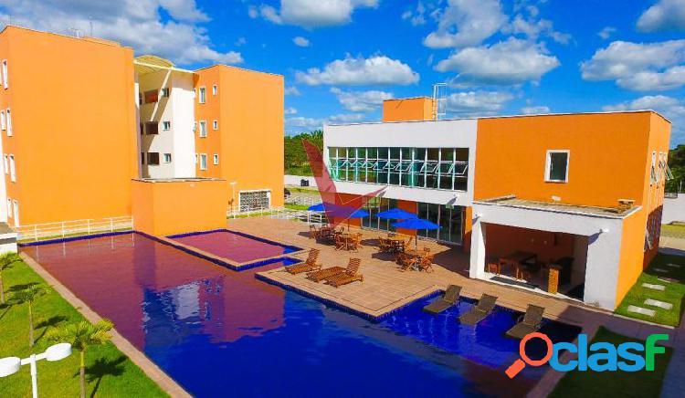 Sonata residence - apartamento com 2 dorms em eusébio - centro por 182.67 mil à venda