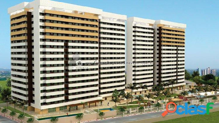 Edificio parc cézanne - apartamento com 3 dorms em fortaleza - parquelândia por 592.000,00 à venda