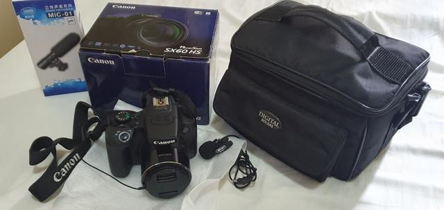 Canon sx60 hs - novíssima !!