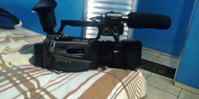 Filmadora profissional sony 3ccd 12x
