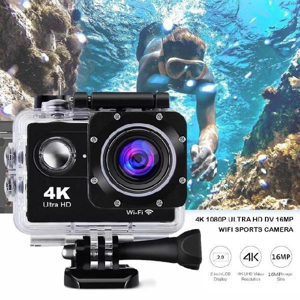 I promoção i câmera filmadora sport 4k ultra hd / frete