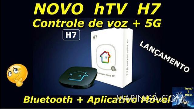 Receptor htv 7+ em maringá 10x de 161,00 no cartao de
