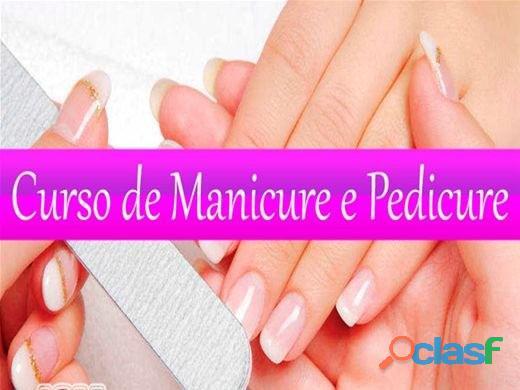Aulas de Manicure e Pedicure Oficial (Promoção)
