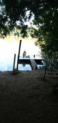 Alugase pesqueiro com tablado com área de lazer