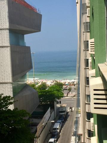 Apartamento vista mar copacabana