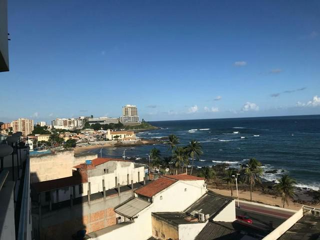 Apartamento temporada vista para o mar