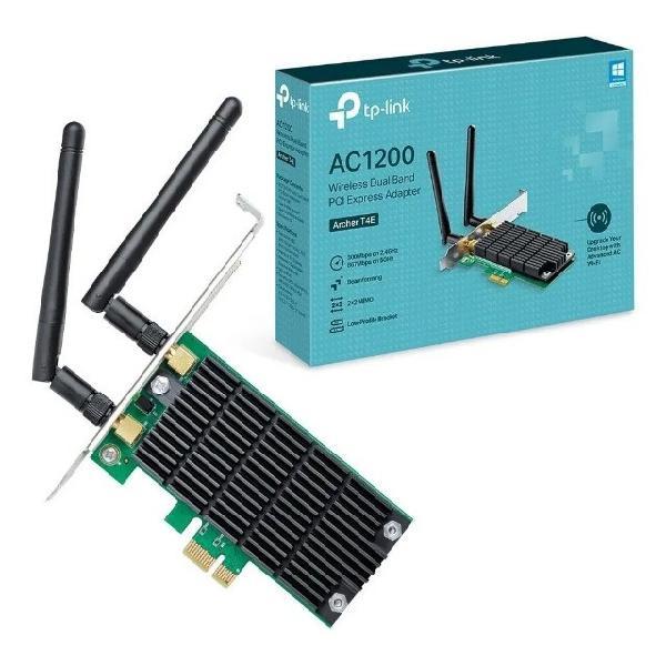 Adaptador pci express wireless dual band ac1200 archer t4e -