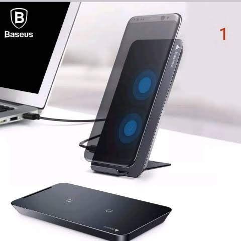 Carregador celular qi wireless iphone 8 x samsung galaxy s8
